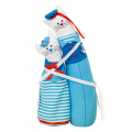 """Набор для шитья игрушки """"Коты-обнимашки морские"""" 29см """"Miadolla"""""""