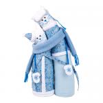 """Набор для шитья игрушки """"Коты-обнимашки зимние"""" 29см """"Miadolla"""""""
