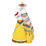 """Набор для шитья игрушки """"Коты-обнимашки мексиканцы"""" 30см """"Miadolla"""""""