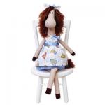 """Набор для шитья игрушки """"Лошадка Одри"""" 42см """"Miadolla"""""""
