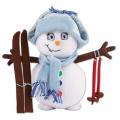 """Набор для шитья игрушки """"Снеговик"""" 18см """"Miadolla"""""""