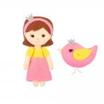 """Набор для шитья игрушки """"Сказочная принцесса"""" 12см """"Miadolla"""""""