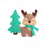 """Набор для шитья игрушки """"Лесной оленёнок"""" 10см """"Miadolla"""""""