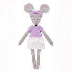 """Набор для шитья игрушки """"Мышка Хельга"""" 37см """"Miadolla"""""""