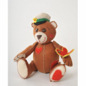 """Набор для шитья игрушки из фетра """"Влюбленный Миша"""" """"Перловка"""""""