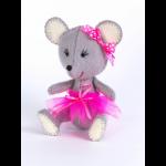 """Набор для шитья игрушки из фетра """"Мышка"""" """"Перловка"""""""