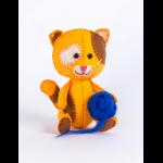 """Набор для шитья игрушки из фетра """"Котёнок Рыжик"""" """"Перловка"""""""