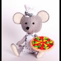 """Набор для шитья игрушки из фетра """"Мастер пиццы"""" """"Перловка"""""""