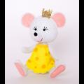 """Набор для шитья игрушки из фетра """"Принцесса-мышка"""" """"Перловка"""""""