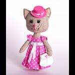"""Набор для шитья игрушки """"Тётя кошка"""" """"Перловка"""""""