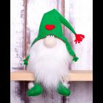 """Набор для шитья игрушки из фетра """"Зелёный гном"""" """"Перловка"""""""