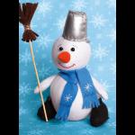 """Набор для шитья игрушки """"Снеговик"""" """"Перловка"""""""