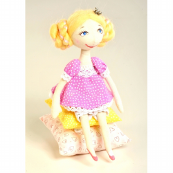 """Набор для шитья игрушки """"Принцесса на горошине"""" """"Перловка"""""""