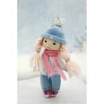 """Набор для шитья куклы из фетра """"Малышка Сью"""" """"Перловка"""""""