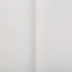 """Плюш на трикотажной основе белый (50x55см) """"Peppy"""""""