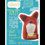 """Набор для валяния игрушки """"Лисёнок для начинающих"""" """"TOYZY"""""""