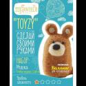 """Набор для валяния игрушки """"Мишка для начинающих"""" """"TOYZY"""""""