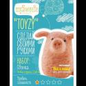 """Набор для валяния игрушки """"Свинка для начинающих"""" """"TOYZY"""""""