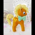 """Набор для шитья игрушки из фетра 03-18 """"Пони Джек"""" """"ТУТТИ"""""""