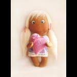 """Набор для шитья игрушки 007 Angels story 21см """"Ваниль"""""""