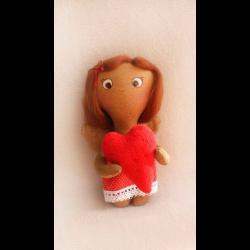 """Набор для шитья игрушки 008 Angels story 21см """"Ваниль"""""""