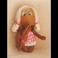 """Набор для шитья игрушки 014 Angels story 21см """"Ваниль"""""""