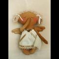 """Набор для шитья игрушки A007 Angels story 23см """"Ваниль"""""""