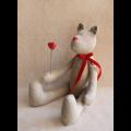 """Набор для шитья игрушки B001 29см """"Ваниль"""""""
