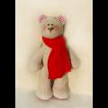 """Набор для шитья игрушки B002 Bears Story 23см """"Ваниль"""""""