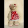 """Набор для шитья игрушки B003 Bears Story 23см """"Ваниль"""""""