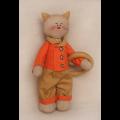 """Набор для шитья игрушки C002 Cats Story 27см """"Ваниль"""""""
