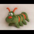 """Набор для шитья игрушки C003 Caterpillar Story 28см """"Ваниль"""""""