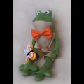 """Набор для шитья игрушки FR001 Frogs Story 41см """"Ваниль"""""""