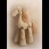 """Набор для шитья игрушки H001 Horse story 21см """"Ваниль"""""""