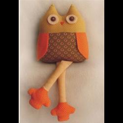 """Набор для шитья игрушки OW001 Owls Story 29см """"Ваниль"""""""