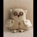 """Набор для шитья игрушки OW002 Owls Story 21см """"Ваниль"""""""