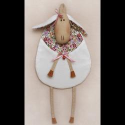 """Набор для шитья игрушки S001 Sheep Story 34см """"Ваниль"""""""