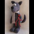 """Набор для шитья игрушки W002 Wolfs story 28см """"Ваниль"""""""