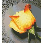 """Набор для картины стразами """"Желтая роза"""" """"Алмазная живопись"""""""
