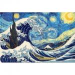 """Набор для картины стразами """"Большая волна"""" """"Алмазная живопись"""""""