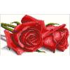 """Набор для картины стразами """"Алые розы"""" """"Алмазная живопись"""""""