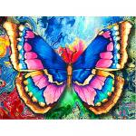 """Набор для картины стразами """"Рисунок бабочки"""" """"Алмазная живопись"""""""