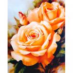 """Набор для картины стразами """"Чайные розы"""" """"Алмазная живопись"""""""