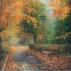 """Набор для картины стразами """"Осенью в парке"""" """"Алмазная живопись"""""""