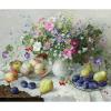 """Набор для картины стразами """"Цветочно-фруктовый натюрморт"""" """"Алмазная живопись"""""""