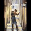 """Набор для картины стразами """"Танец в переулке"""" """"Алмазная живопись"""""""
