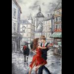 """Набор для картины стразами """"Танго в городе"""" """"Алмазная живопись"""""""