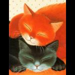 """Набор для картины стразами """"Спящие коты"""" """"Алмазная живопись"""""""