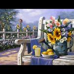 """Набор для картины стразами """"Садовый натюрморт"""" """"Алмазная живопись"""""""