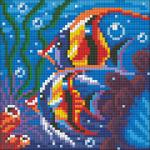 """Набор для картины стразами """"Обитатели рифа"""" """"Алмазная живопись"""""""